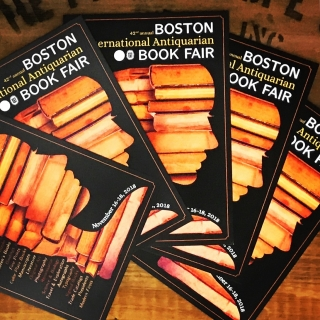 Boston International Antiquarian Book Fair 2018