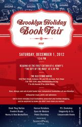 Brooklyn Holiday Book Fair 2012