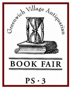 Greenwich Village Antiquarian Book Fair 2013