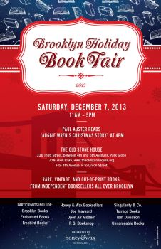 Brooklyn Holiday Book Fair 2013