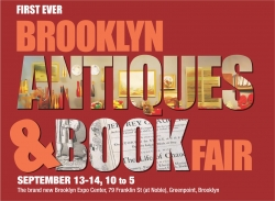 Brooklyn Antiques & Book Fair 2014