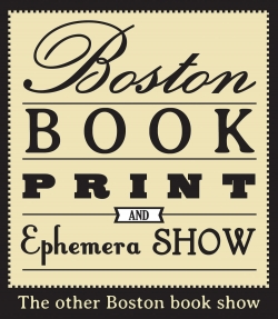 Boston Book, Print, and Ephemera Show 2015