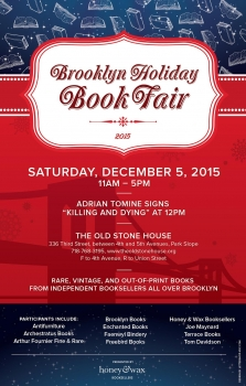 Brooklyn Holiday Book Fair 2015