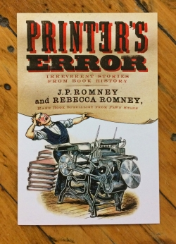 New York Book Launch: Printer's Error