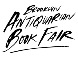 Brooklyn Antiquarian Book Fair 2017