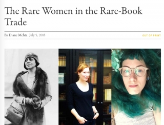 The Rare Women in the Rare-Book Trade