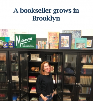 A Bookseller Grows in Brooklyn
