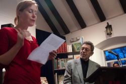 Pete Hamill Joins Vintage Bookseller at Old Stone House Holiday Fair