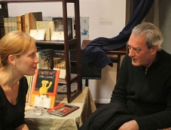 We Missed Patrick Stewart but Paul Auster Read Us A Story: The Second Annual Brooklyn Holiday Book Fair