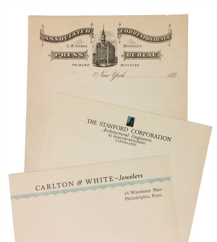Collection of American business letterhead samples – Business Letterhead Samples
