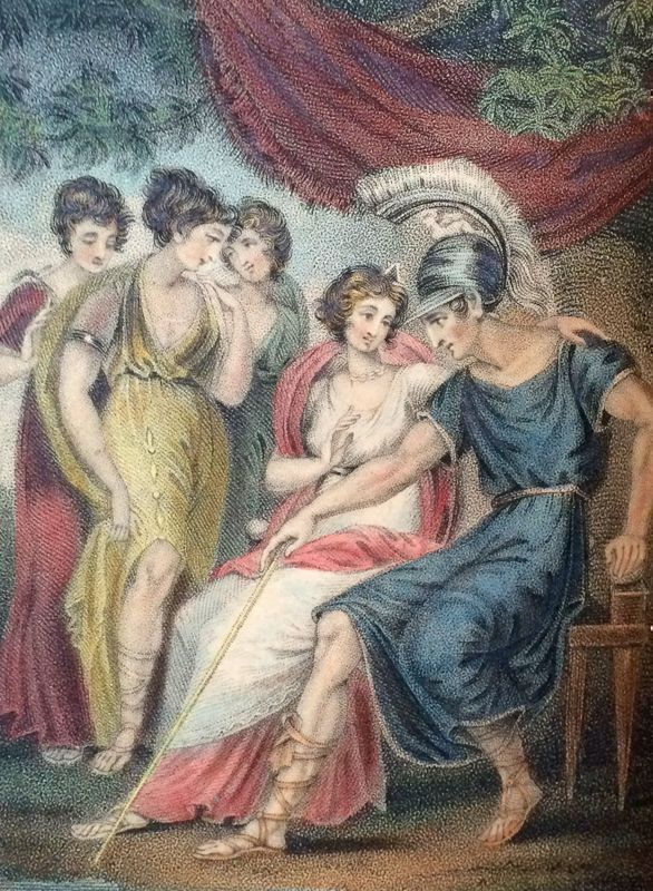 Ovid's Art of Love, 1804, with Six Hand-Colored Plates