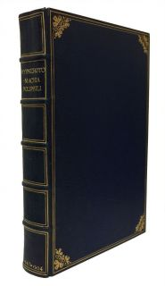 Stunning Fine Press Edition of the Hypnerotomachia Poliphili, Bound by Edith Gedye