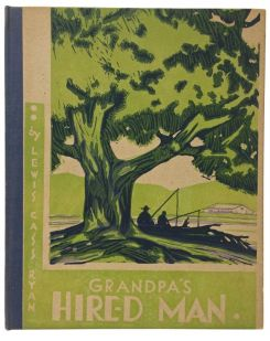 Grandpa's Hired Man, 1933, Signed by Lewis Cass Ryan