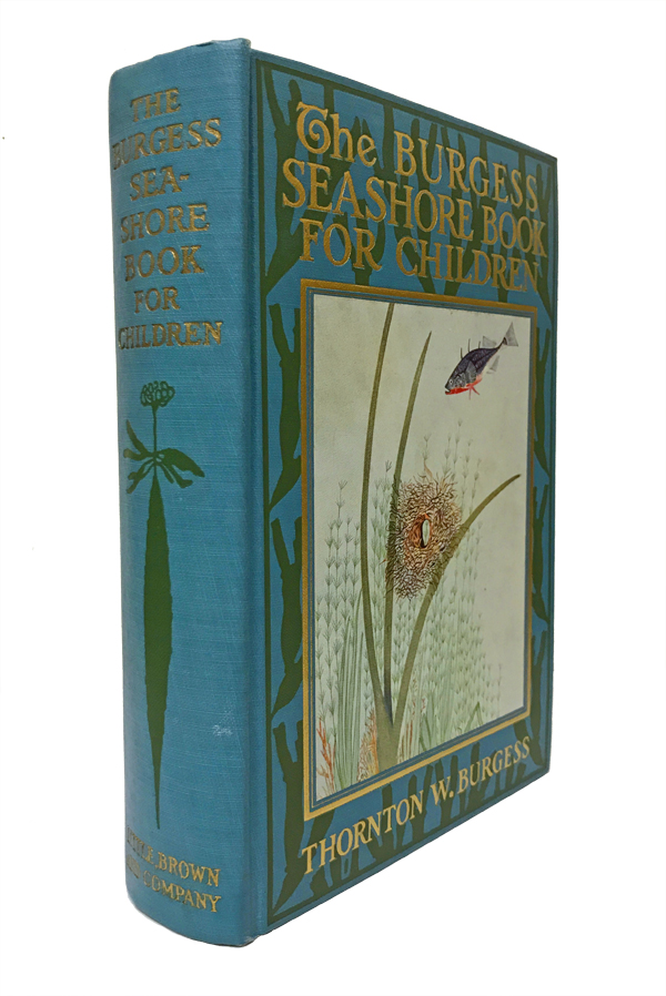 The Burgess Seashore Book for Children. Thornton W. Burgess, W. H. Southwick, illustrator, George Sutton.