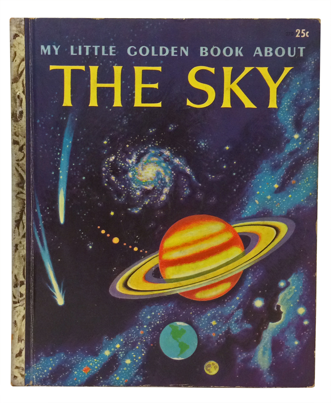 My Little Golden Book About the Sky. Rose Wyler, Tibor Gergely, illustrator.