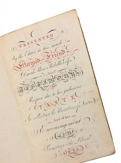 English Poetry, 1780, with Calligraphic Presentation from the Editor