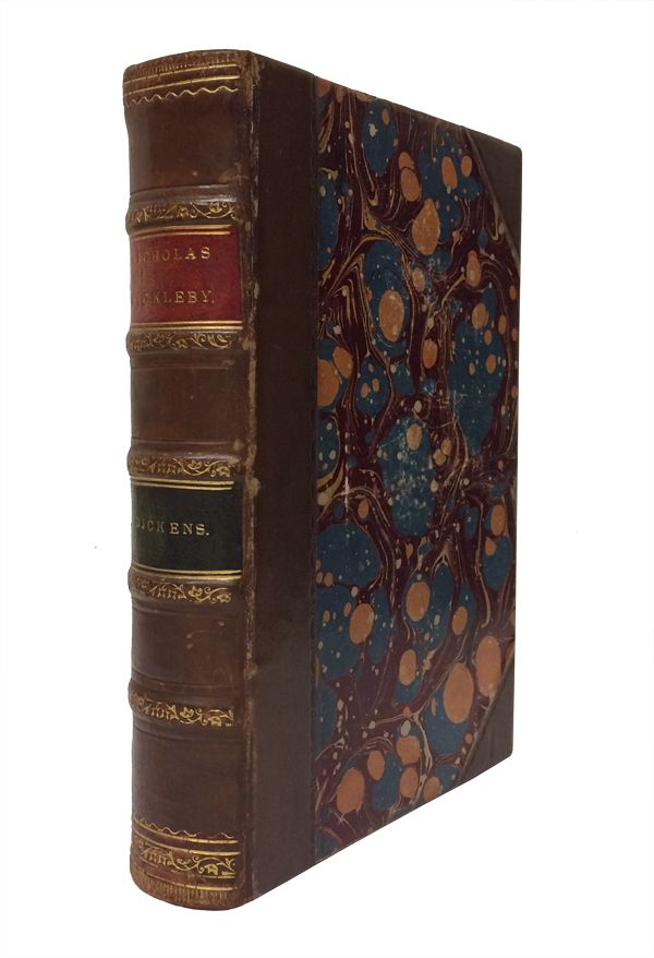 The Life and Adventures of Nicholas Nickleby. Charles Dickens, Hablot Knight Browne, illustrator.
