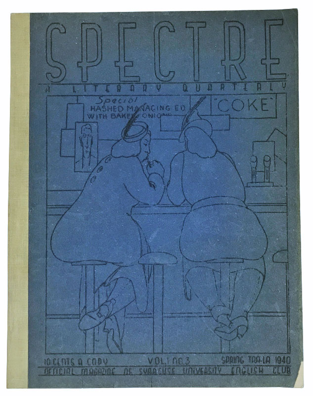 Spectre: A Literary Quarterly. Volume I: Number 3. Shirley Jackson, Stanley Edgar Hyman.