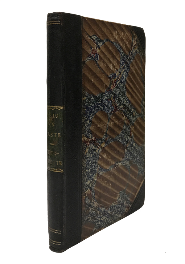 Clio: or, a Discourse on Taste. Addressed to a Young Lady. BOUND WITH: The Spirit of Etiquette; or, Politeness Exemplified. James Ussher, Lady De S.