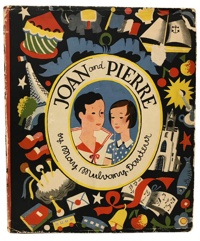 Joan and Pierre. May Mulvany-Dauteur.