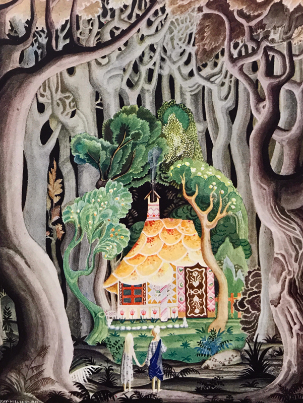 Hansel and Gretel, and Other Stories by the Brothers Grimm. Jacob Grimm, Wilhelm Grimm, Kay Nielsen, illustrator.