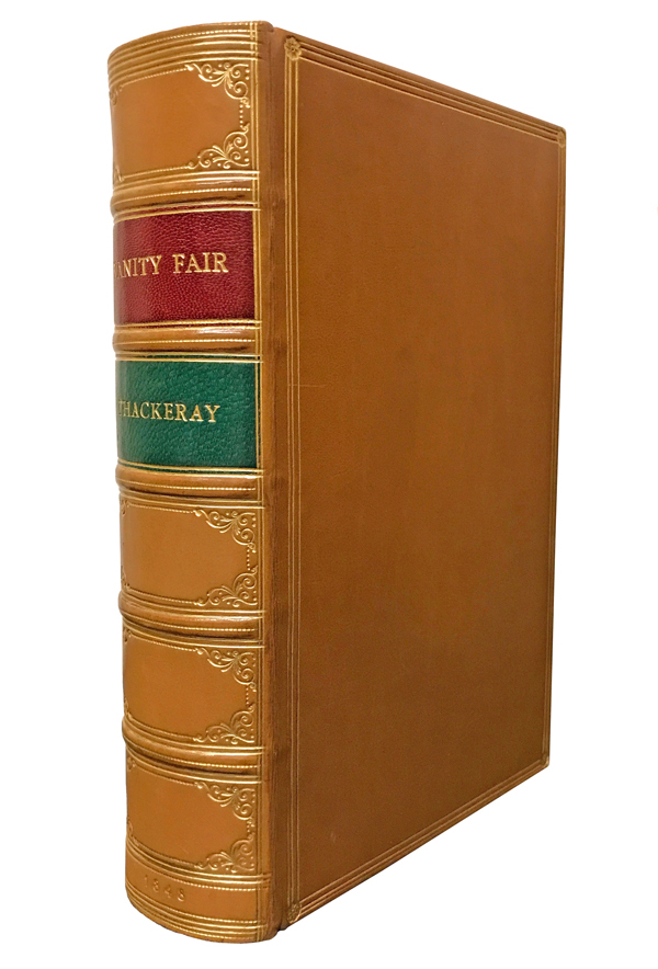 Vanity Fair. A Novel Without a Hero. William Makepeace Thackeray.