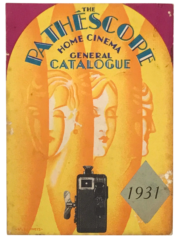Collection of catalogs for Pathéscope. FILM.