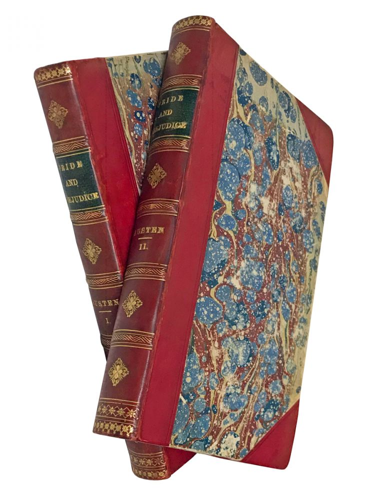 """Pride and Prejudice: A Novel. In Two Volumes. By the Author of """"Sense and Sensibility,"""" &c. Jane Austen."""