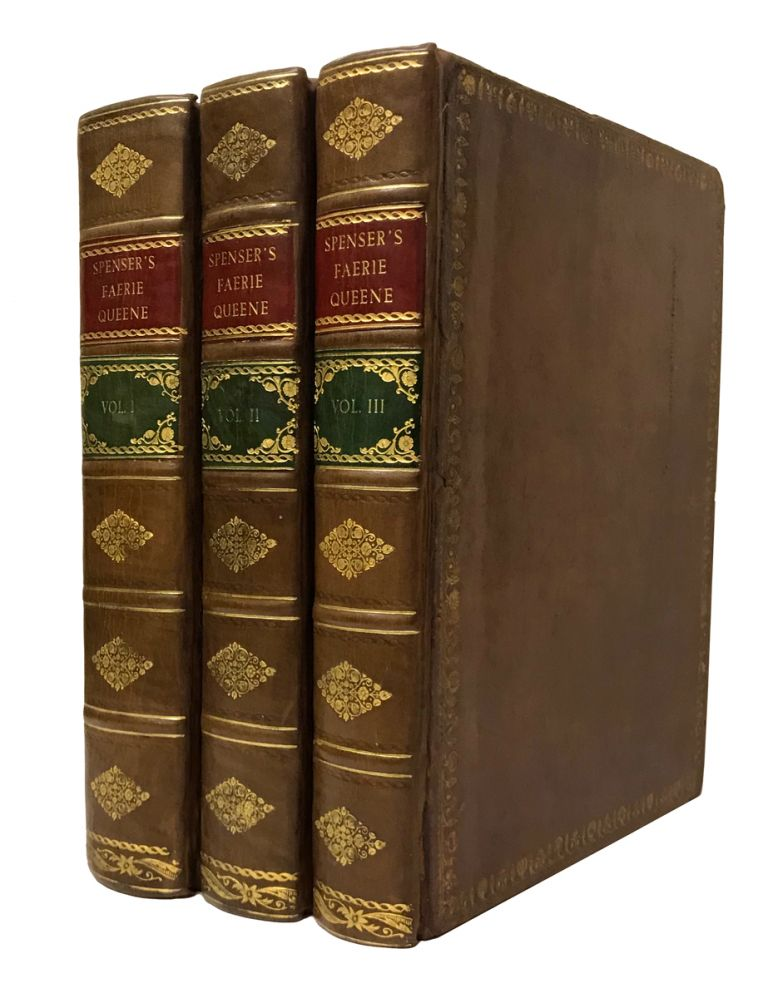 The Faerie Queene. By Edmund Spenser. With an Exact Collation of the Two Original Editions, Published by Himself in Quarto. Edmund Spenser, Thomas Birch, William Kent.