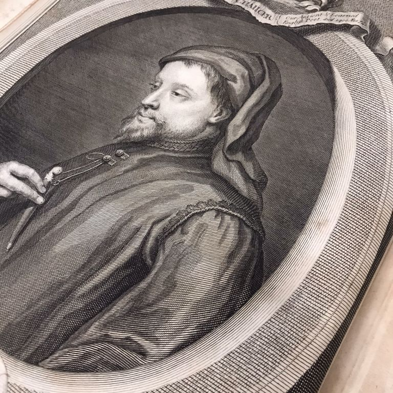 The Works of Geoffrey Chaucer, Compared with the Former Editions, and Many Valuable MSS. Out of which, Three Tales are added which were never before Printed. Geoffrey Chaucer, John Urry, George Vertue.