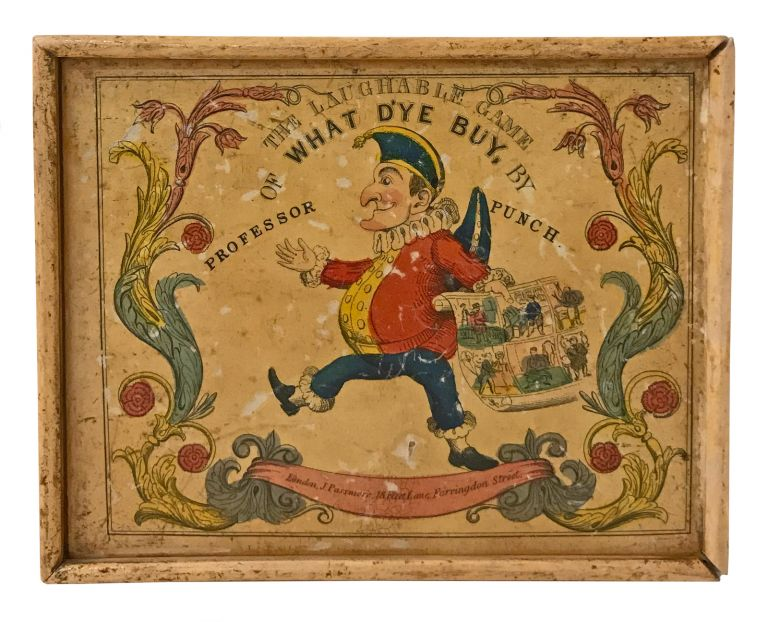 The Laughable Game of What D'ye Buy, by Professor Punch. GAMES.