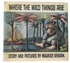 First Edition of Where The Wild Things Are