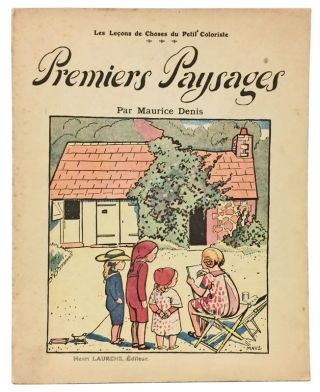 Iconic Modernist Coloring Book: Maurice Denis's Premiers Paysages, 1911