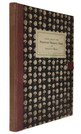 Pages from the American Memory Book of Eveline F. Willis