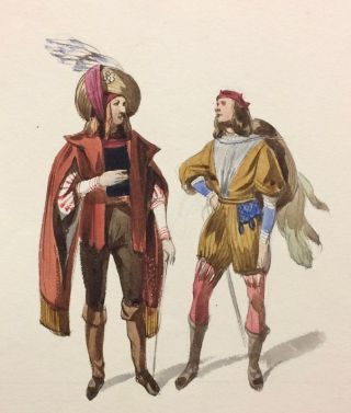 Sketches of Costume by Coke Smyth