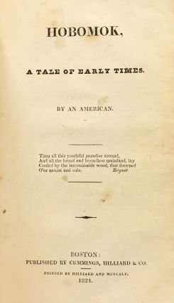 The Witch of New England; bound with: Hobomok: A Tale of Early Times. By an American