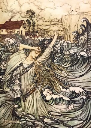 Deluxe Signed Limited Edition of Arthur Rackham's Undine, 1909