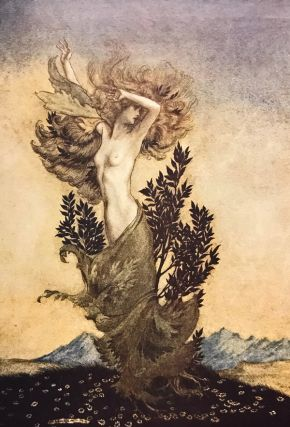 Deluxe Signed Limited Edition of Milton's Comus, Illustrated by Arthur Rackham, 1921