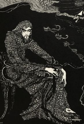 Tales of Mystery and Imagination. Edgar Allan Poe, Harry Clarke, illustrator.