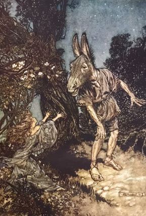 A Midsummer-Night's Dream. William Shakespeare, Arthur Rackham