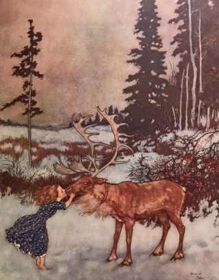 Stories from Hans Andersen. Hans Christian Andersen, Edmund Dulac, illustrator.