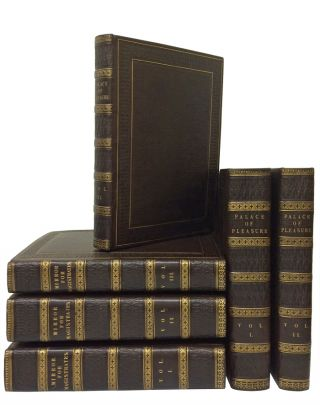 Mirror for Magistrates (three volumes); WITH: The Palace of Pleasure (three volumes). William Shakespeare, Joseph Haslewood.