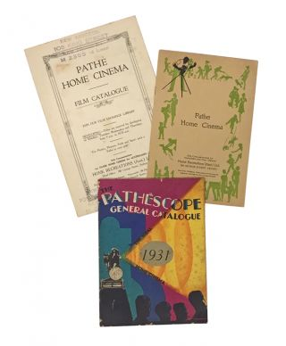 Collection of catalogs for Pathéscope