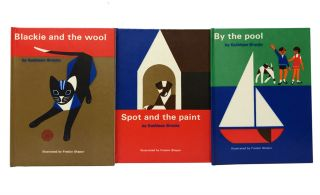 First Readers: Spot and the Paint, Blackie and the Wool, By the Pool. Fredun Shapur, Kathleen Brooks