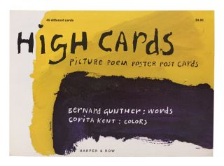 High Cards: Picture Poem Poster Post Cards