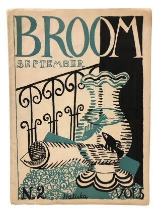 Broom: An International Magazine of the Arts. Volume 5, Number 2. Guillaume Apollinaire, Jean...