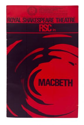 RSC in Macbeth by William Shakespeare (theater program). Delia Derbyshire, Royal Shakespeare Company
