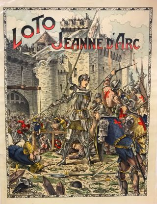 Loto Jeanne d'Arc. GAMES