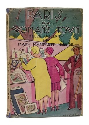 Paris Is a Woman's Town. Helen Josephy, Margaret Mary McBride, Helen Hokinson, jacket design