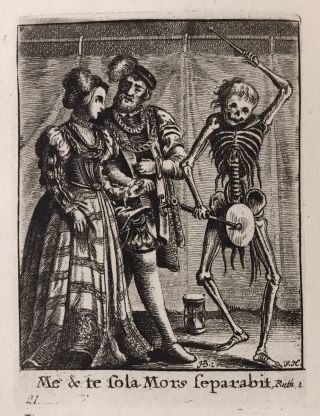 The Dance of Death; Painted by H. Holbein, and Engraved by W. Hollar. Hans Holbein, Wenceslaus...